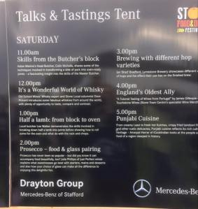 talks & tastings